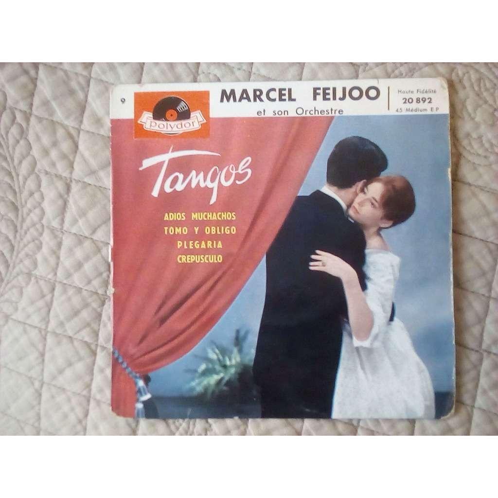 marcel feijoo et son orchestre tangos 9 : adios muchachos/tomo y obligo/plegaria/crepusculo
