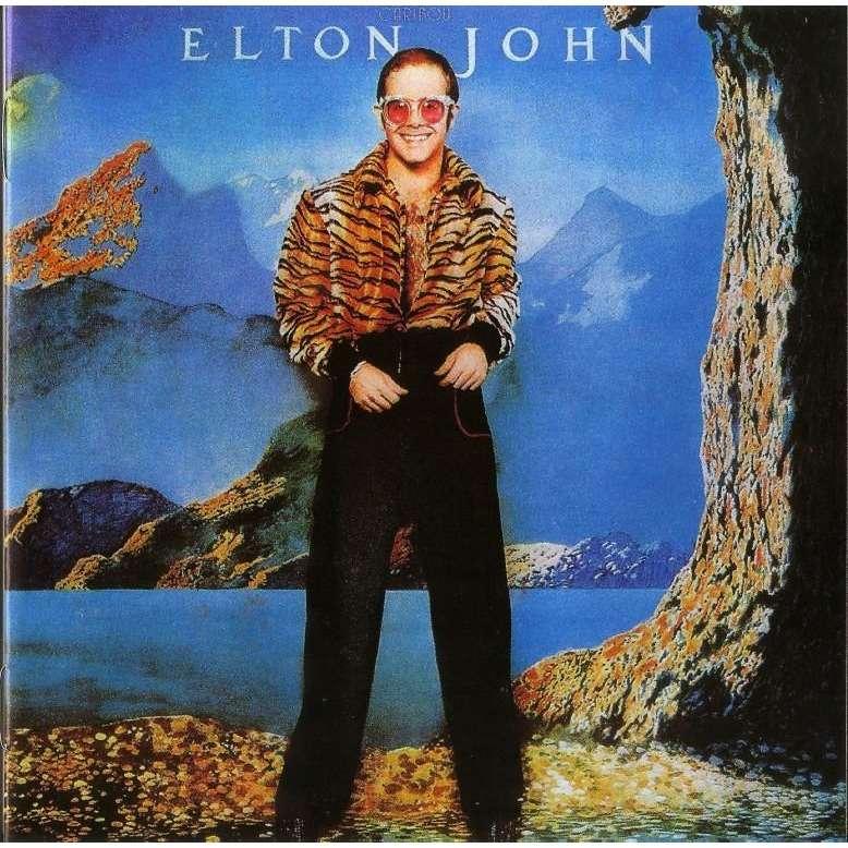 Elton John Caribou CD (with bonus tracks) Worldwide Free Shipping
