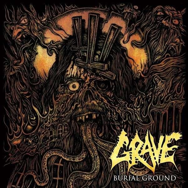 GRAVE Burial Ground. Black Vinyl