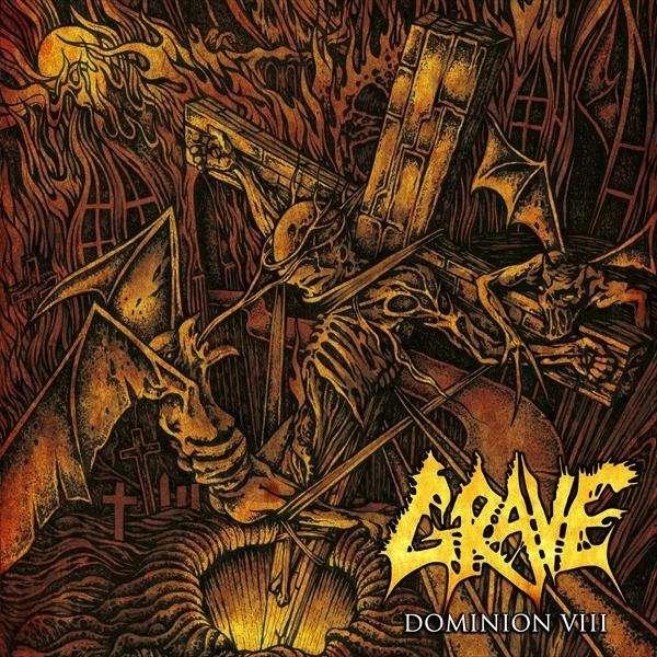 GRAVE Dominion VIII. Black Vinyl