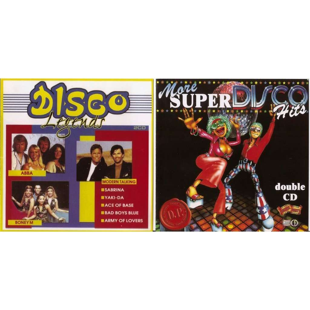 Disco Legends Dance Hits 80's-90's Greatest Songs Pop Superstars 4 CD New  Sealed Worldwide Free Shipping