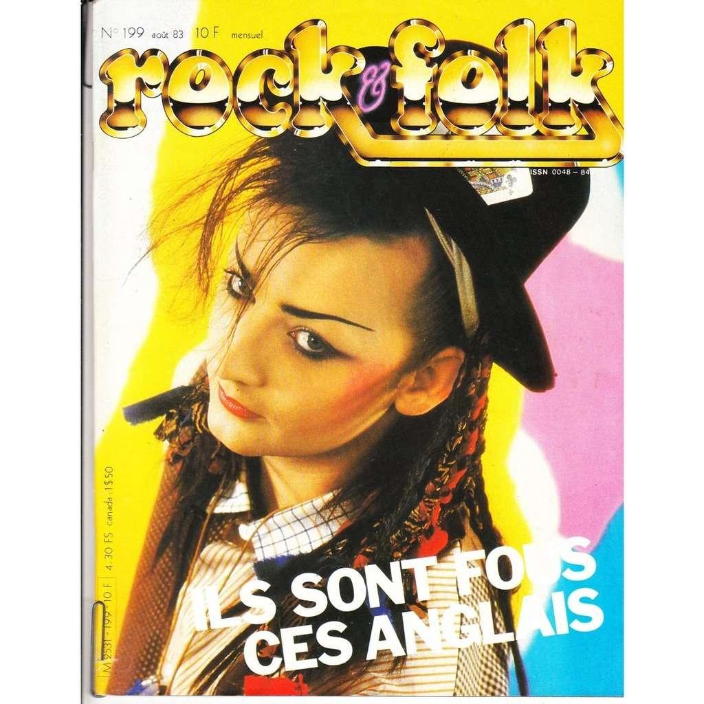 Rock & Folk N°199-aout 1983