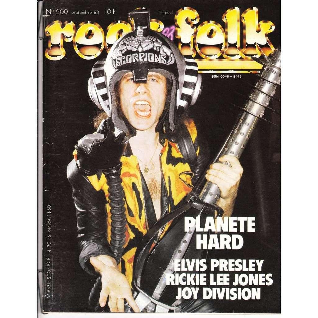 Rock & Folk N°200-septembre 1983