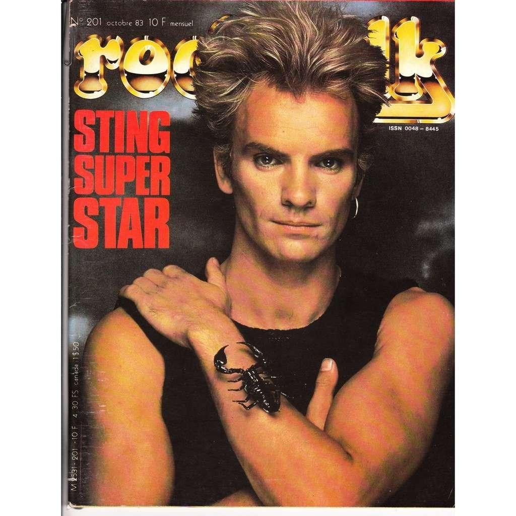 Rock & Folk N°201-octobre 1983