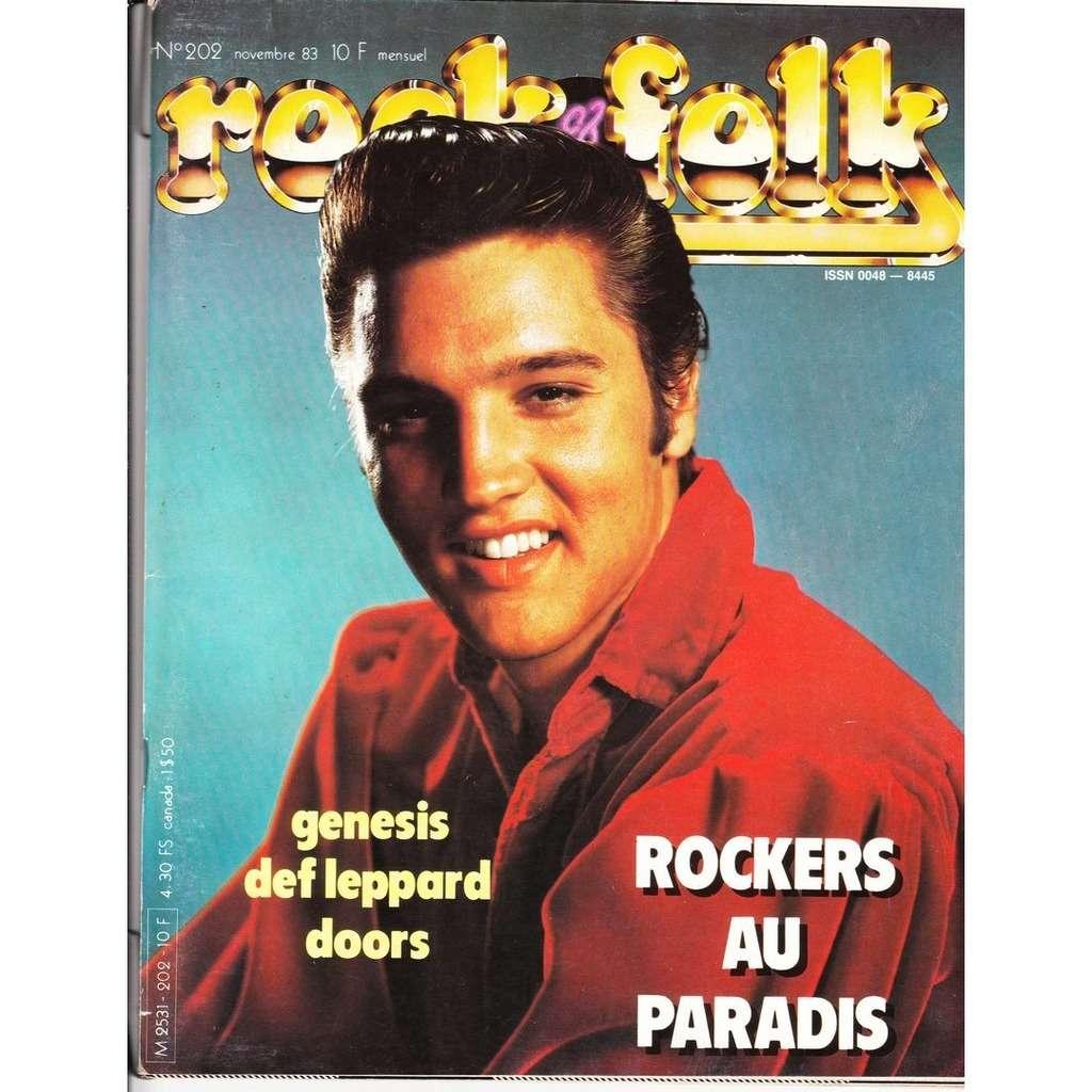 Rock & Folk N°202-novembre 1983