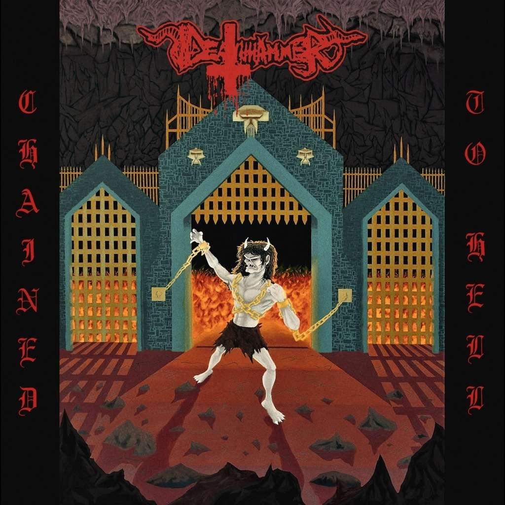 DEATHHAMMER Chained to Hell. 3 color Vinyl