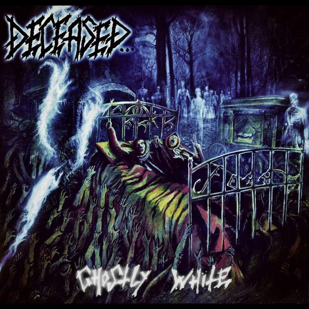 DECEASED Ghostly White. Black Vinyl