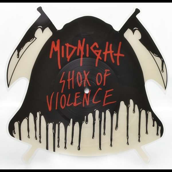 MIDNIGHT Shox of Violence. Picture LP