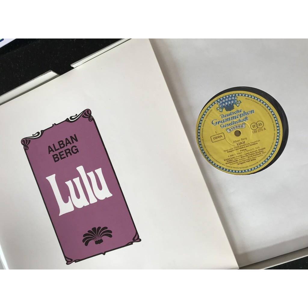 ALBAN BERG / KARL BOHM LULU