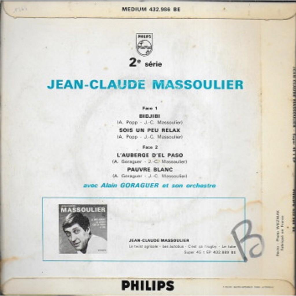 Jean-Claude MASSOULIER 2e série : Bidjibi
