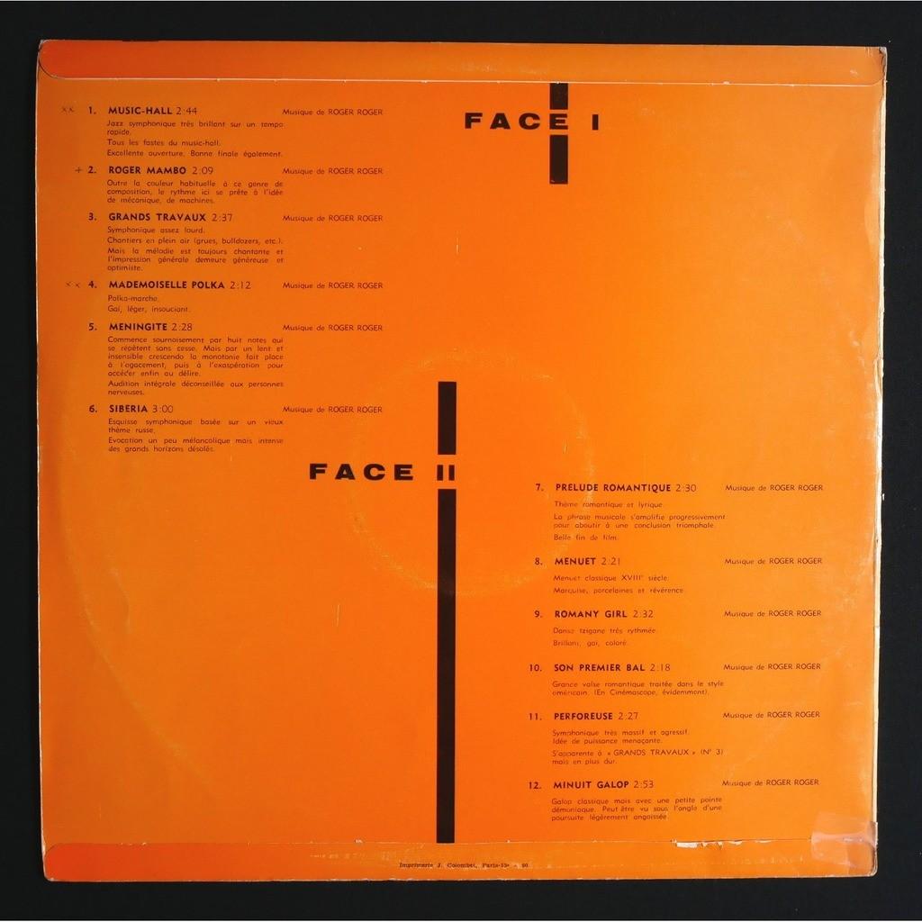 Roger Roger Et Son Grand Orchestre Chappell Mood Music vol. 2