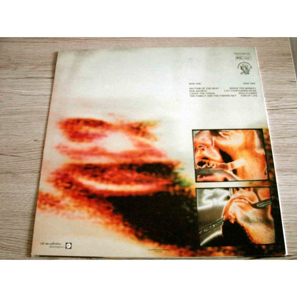 Peter Gabriel 4 / THE RHTTHM OF THE BEAT – SHOCK THE MONKEY