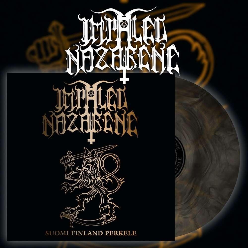 IMPALED NAZARENE Suomi Finland Perkele. Gold Galaxy Vinyl