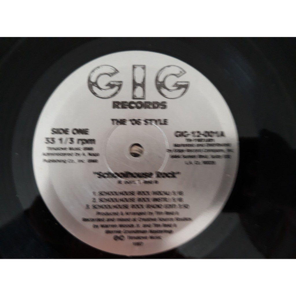 The '06 Style - Schoolhouse Rock / G.I.G.-Get It G The '06 Style - Schoolhouse Rock / G.I.G.-Get It Going (12)