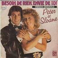 PETER ET SLOANE BESOIN DE RIEN .... + MA VIE AVEC TOI