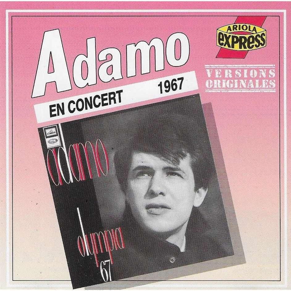 Salvatore Adamo Adamo : En Concert N°2 - Live à l'Olympia 1967