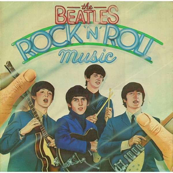 the beatles Rock'n'roll music