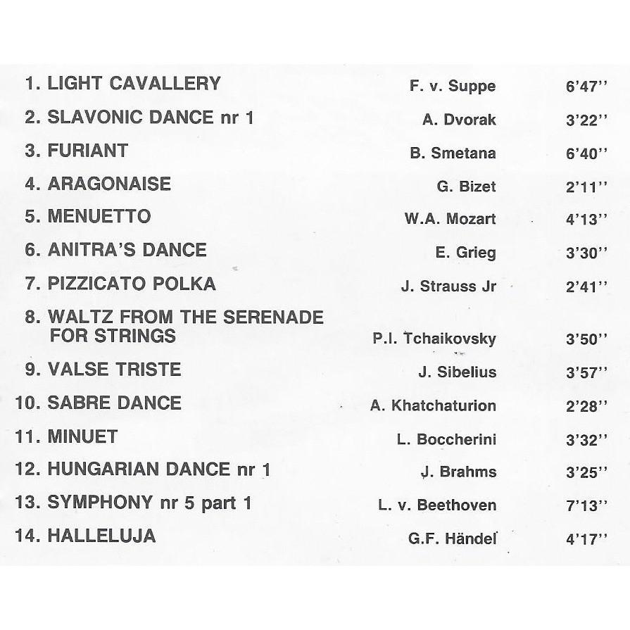 artistes divers - various artists SEAT TOLEDO - SPORT BELGIUM - BEST OF CLASSICAL (Compilation)