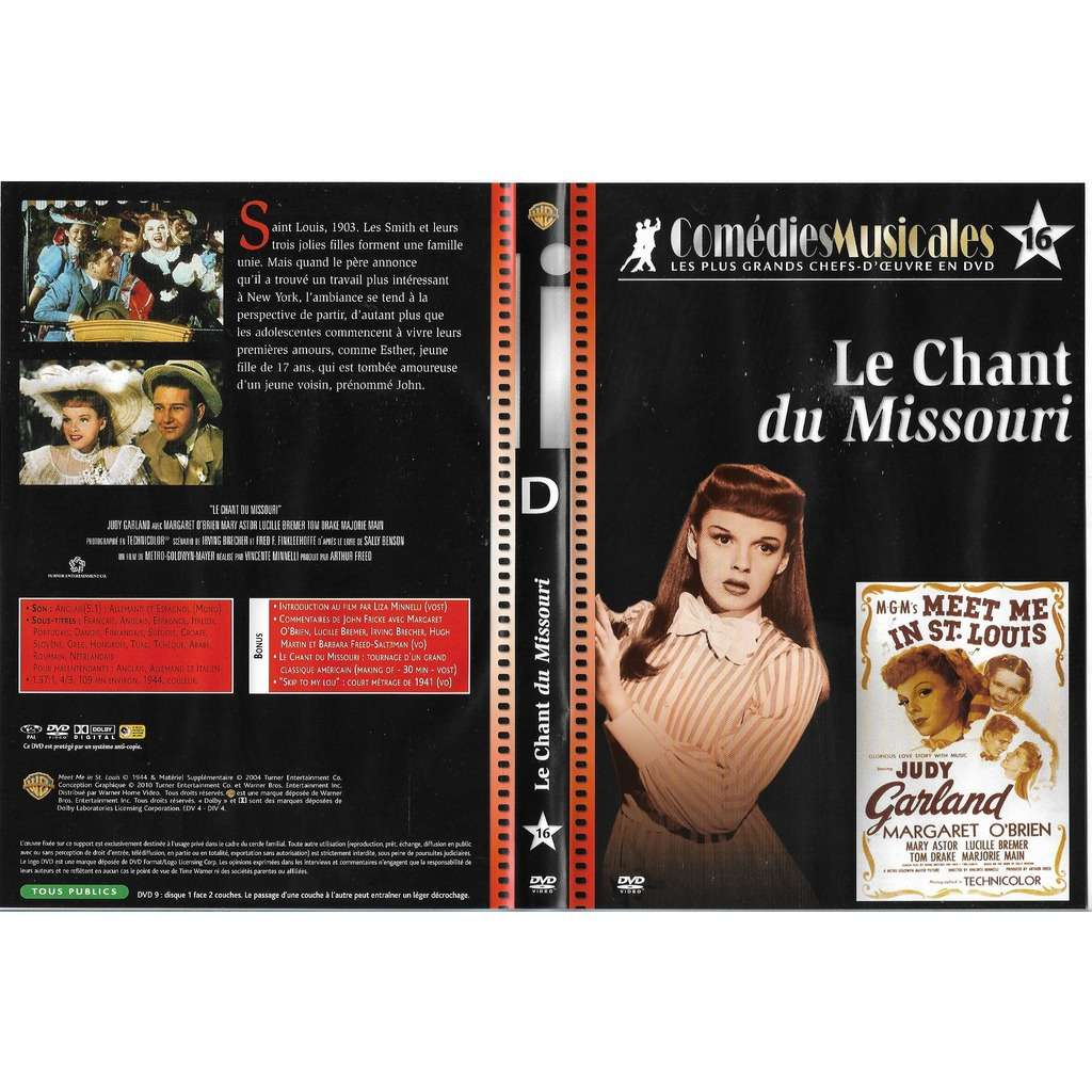 judy garland -margaret o'brien le chant du mlssouri