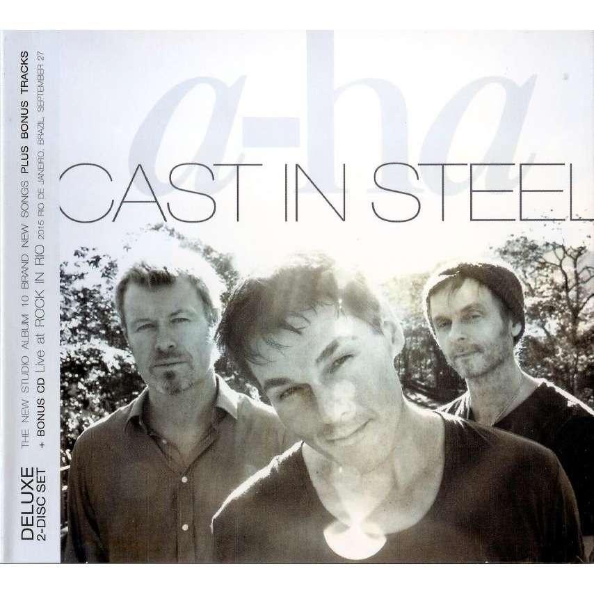 A-HA Cast In Steel + Rock In Rio Live 2 CD Deluxe Worldwide Free Shipping