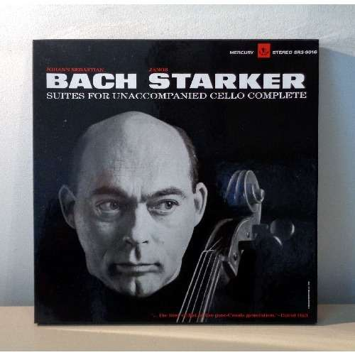 JANOS STARKER JS BACH Suites for unaccompanied cello complete