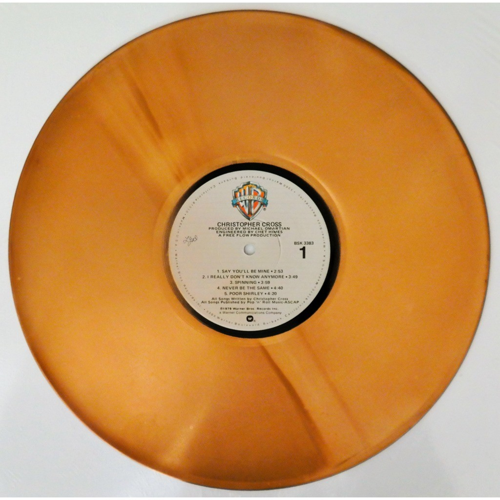 Christopher Cross Christopher Cross Very, Very rare promo /Gold /Black pressing