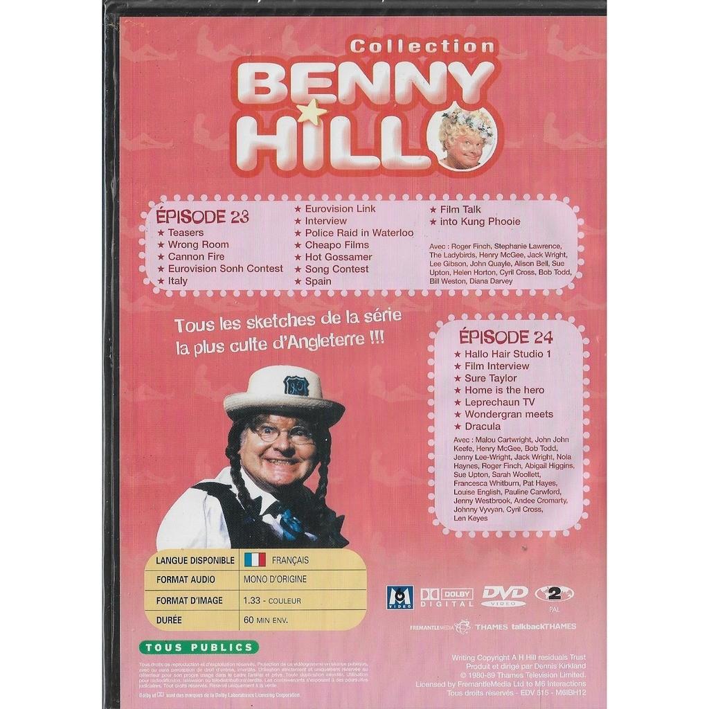benny hill episodes 23 et 24