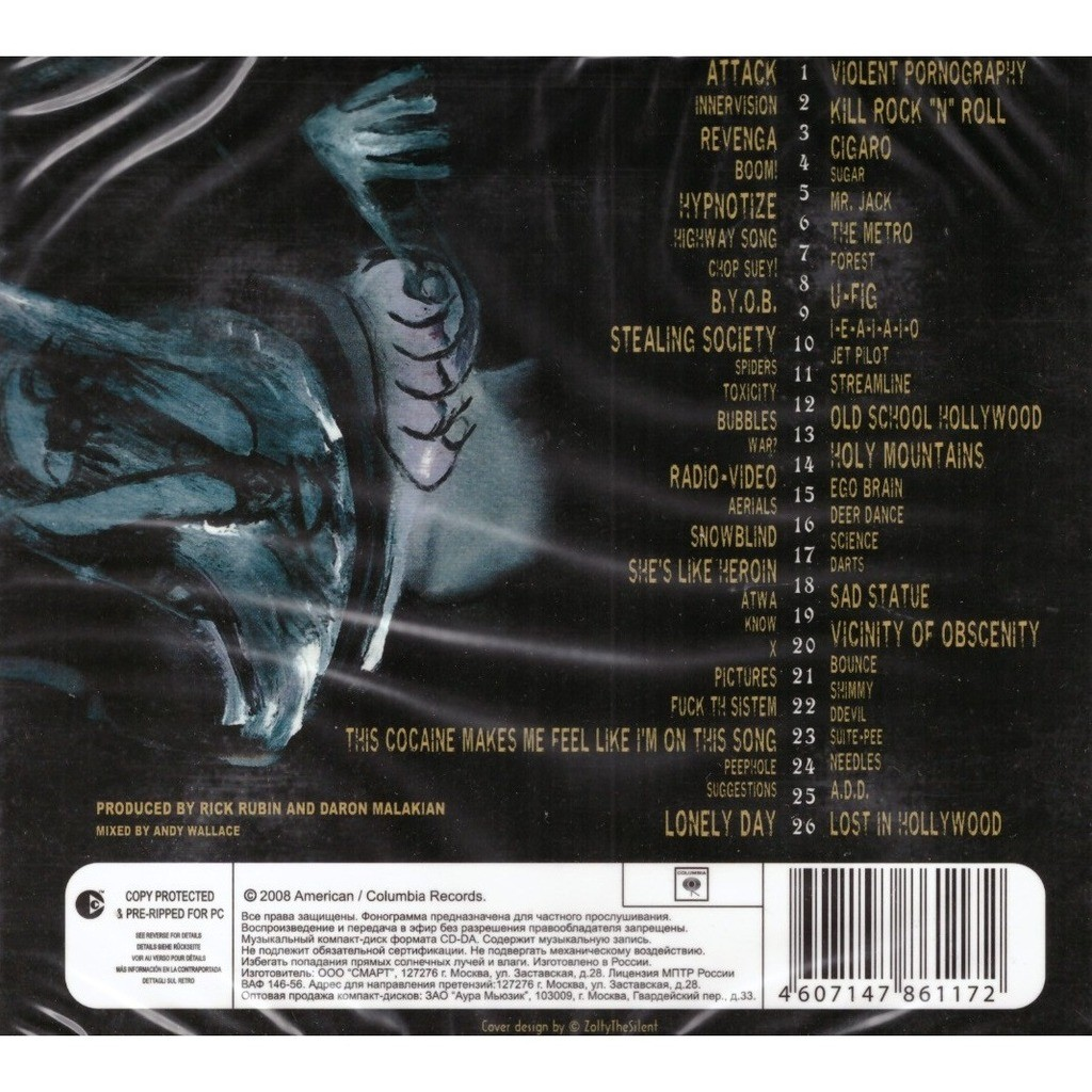 System of A Down Kill Rock'N'Roll Greatest hits 2CD New Sealed