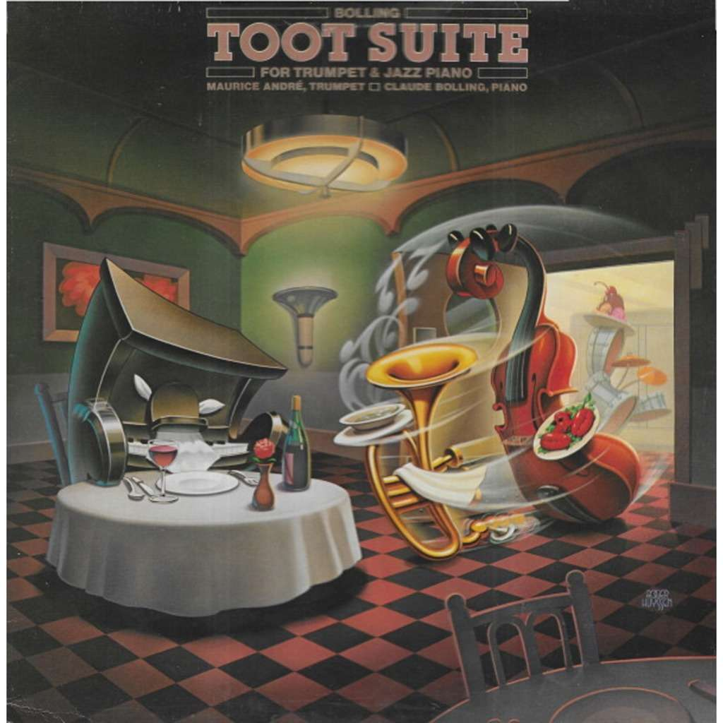 Claude BOLLING & Maurice ANDRE Toot Suite for Trumpet & Piano