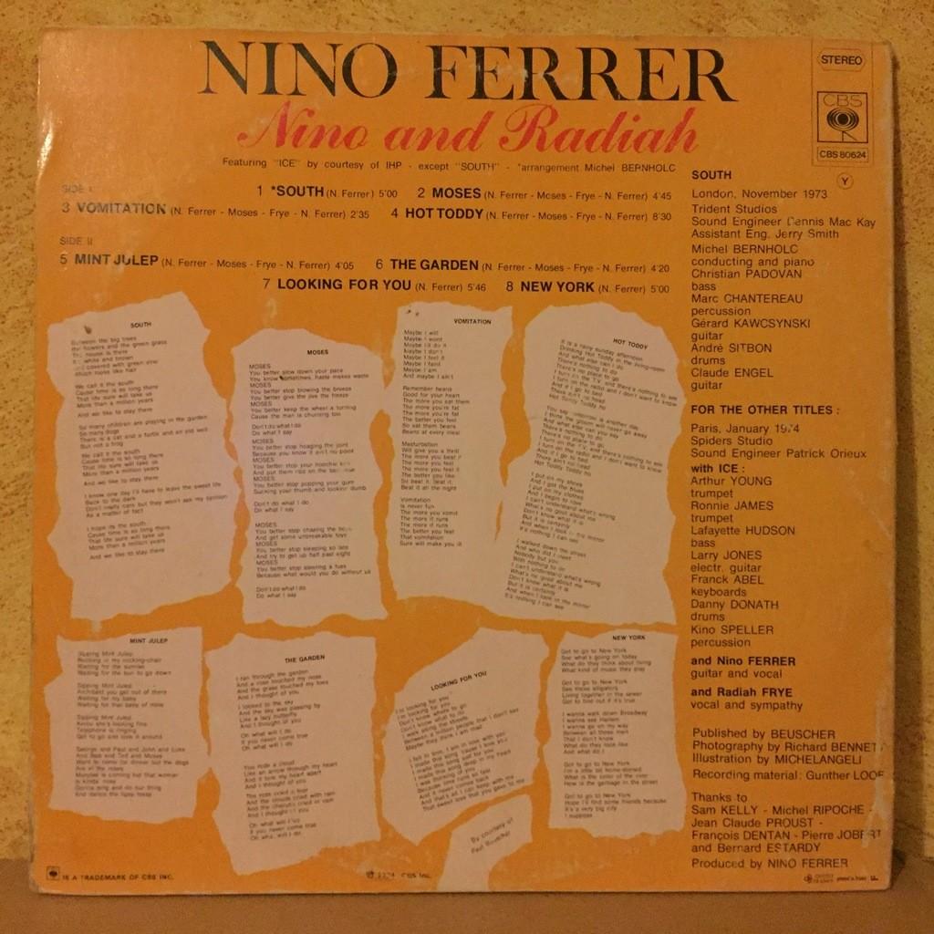 Nino Ferrer featuring ICE Nino and Radiah