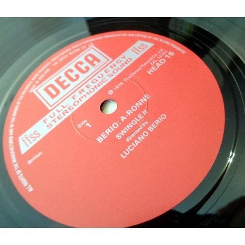 LUCIANO BERIO BERIO Ronnie - Cries of London