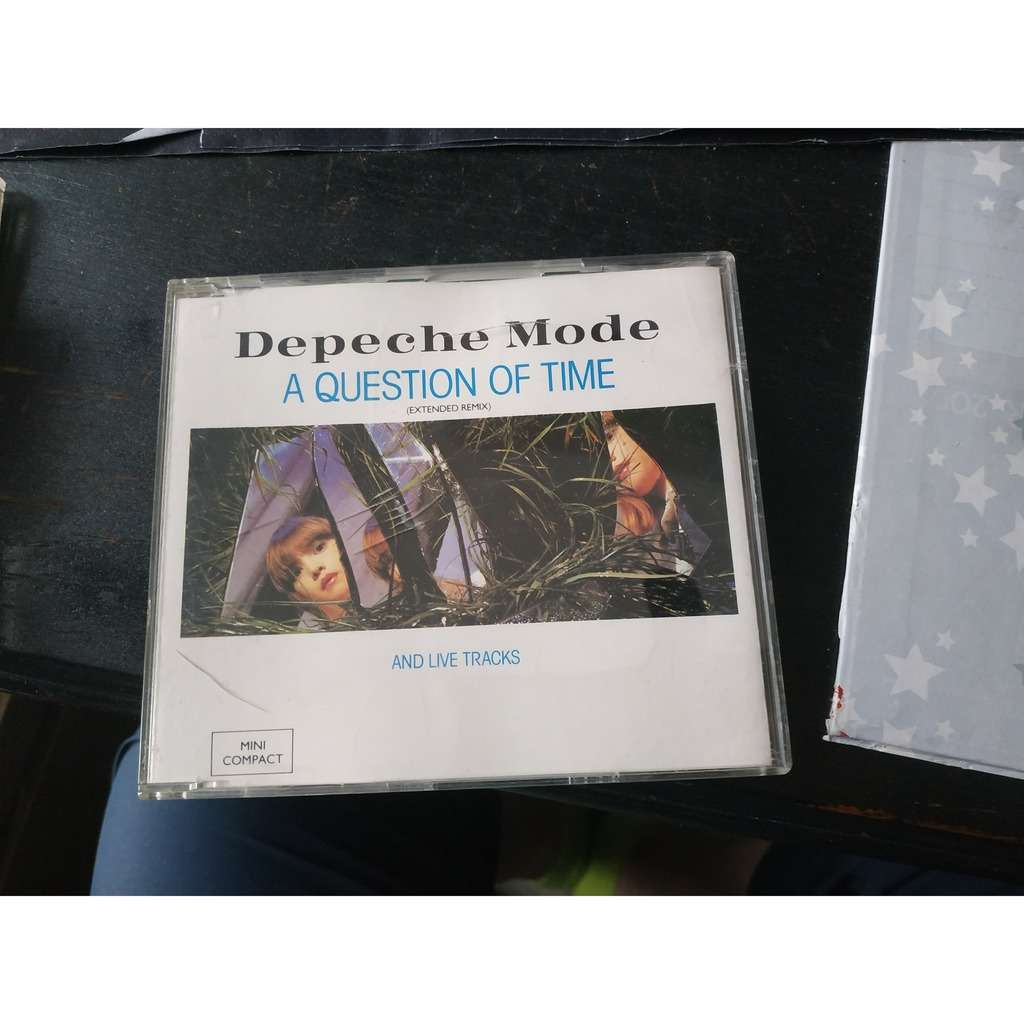 DEPECHE MODE A Question Of Time (Extended Remix) And Live