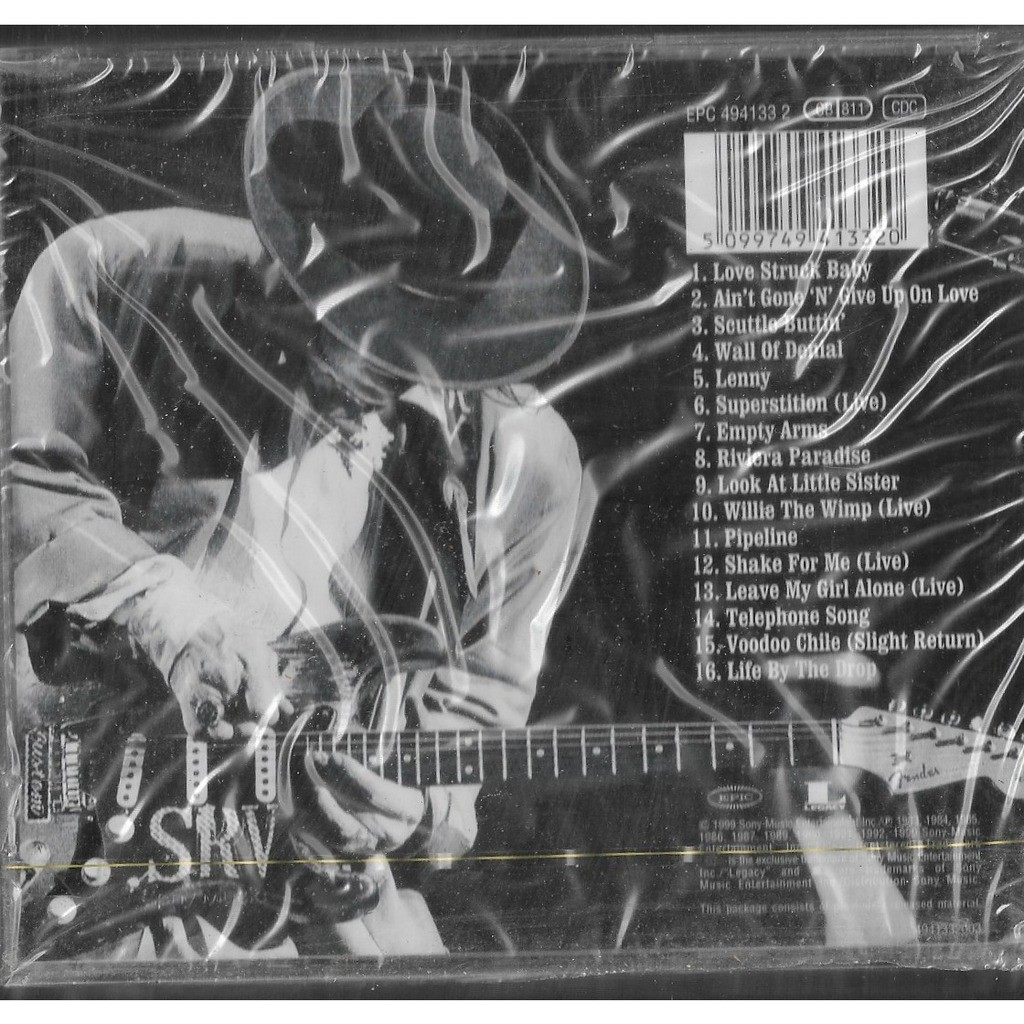 STEVIE RAY VAUGHAN AND DOUBLE TROUBLE REAL DREAM GREATEST HITS VOL. 2