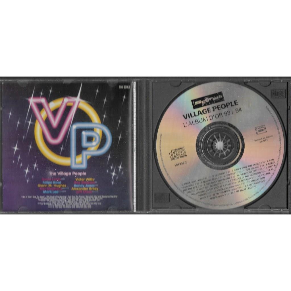 Village People L'album d'or 93/94