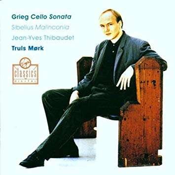 GRIEG / SIBELIUS CELLO & PIANO WORKS. / MORK / THIBAUDET