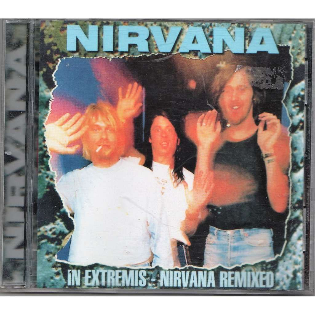 Nirvana In Extremis - Nirvana Remixed (EUro Ltd 10.trk 'demos & remix' CD unique ps)