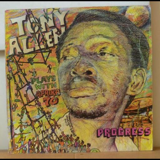 TONY ALLEN WITH AFRICA 70 Progress