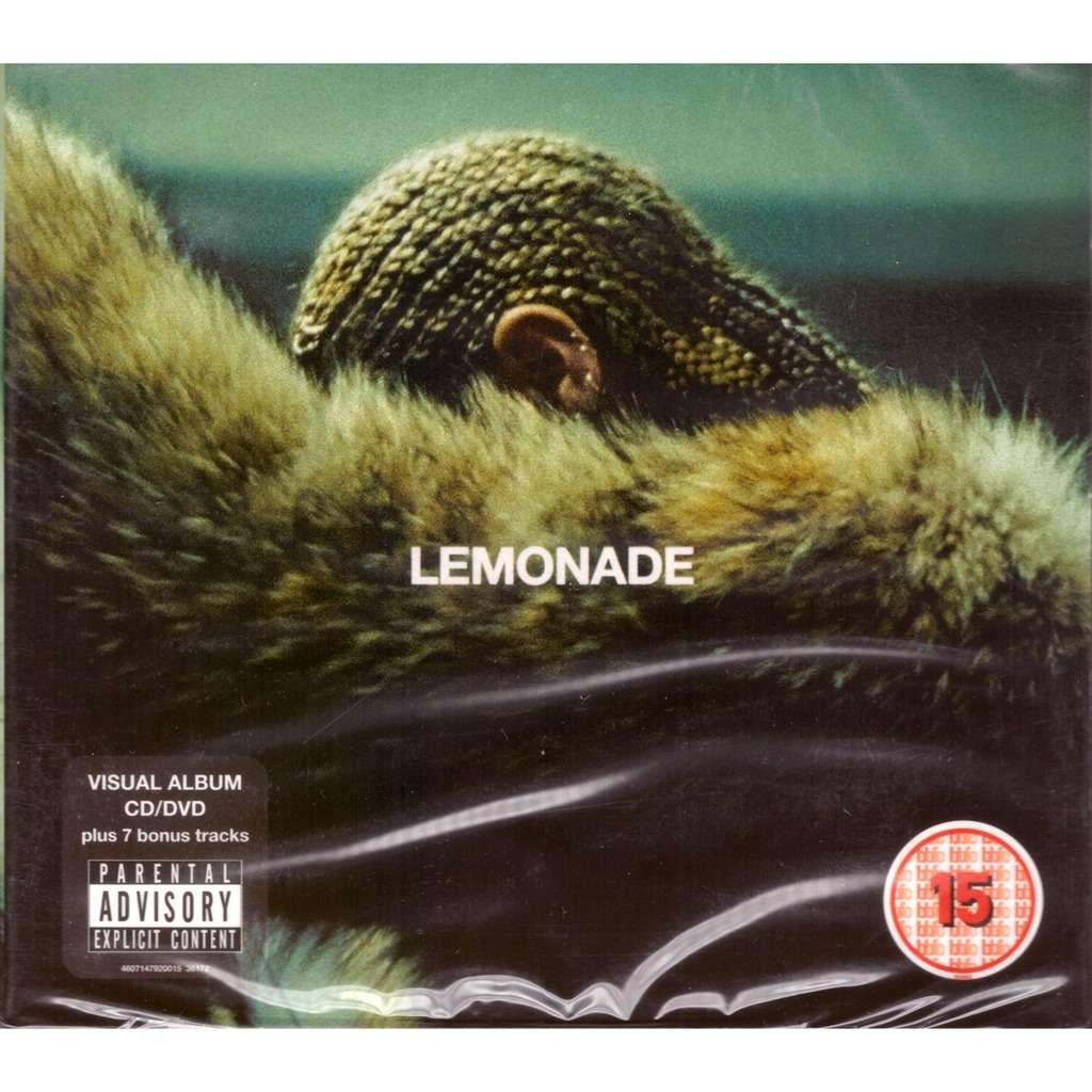 Beyonce Lemonade CD + DVD