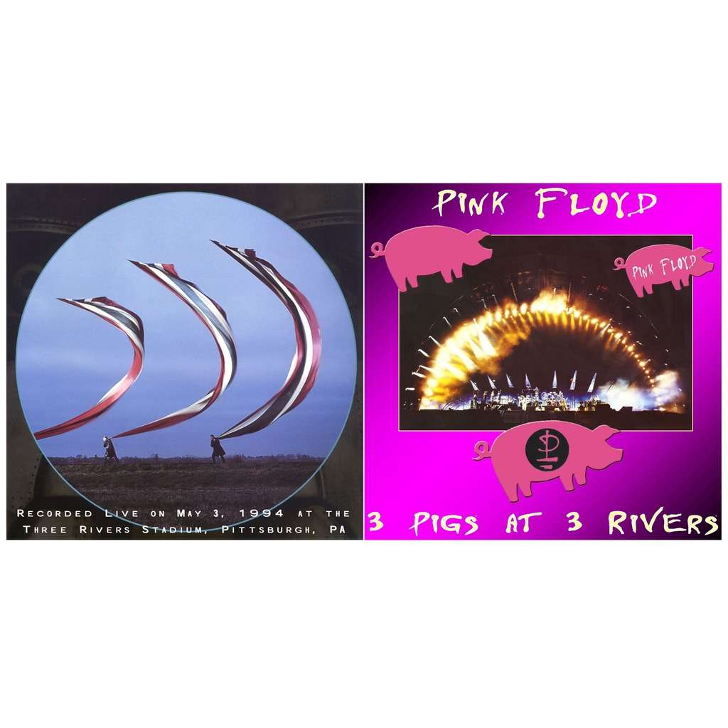PINK FLOYD 3 Pigs At 3 Rivers