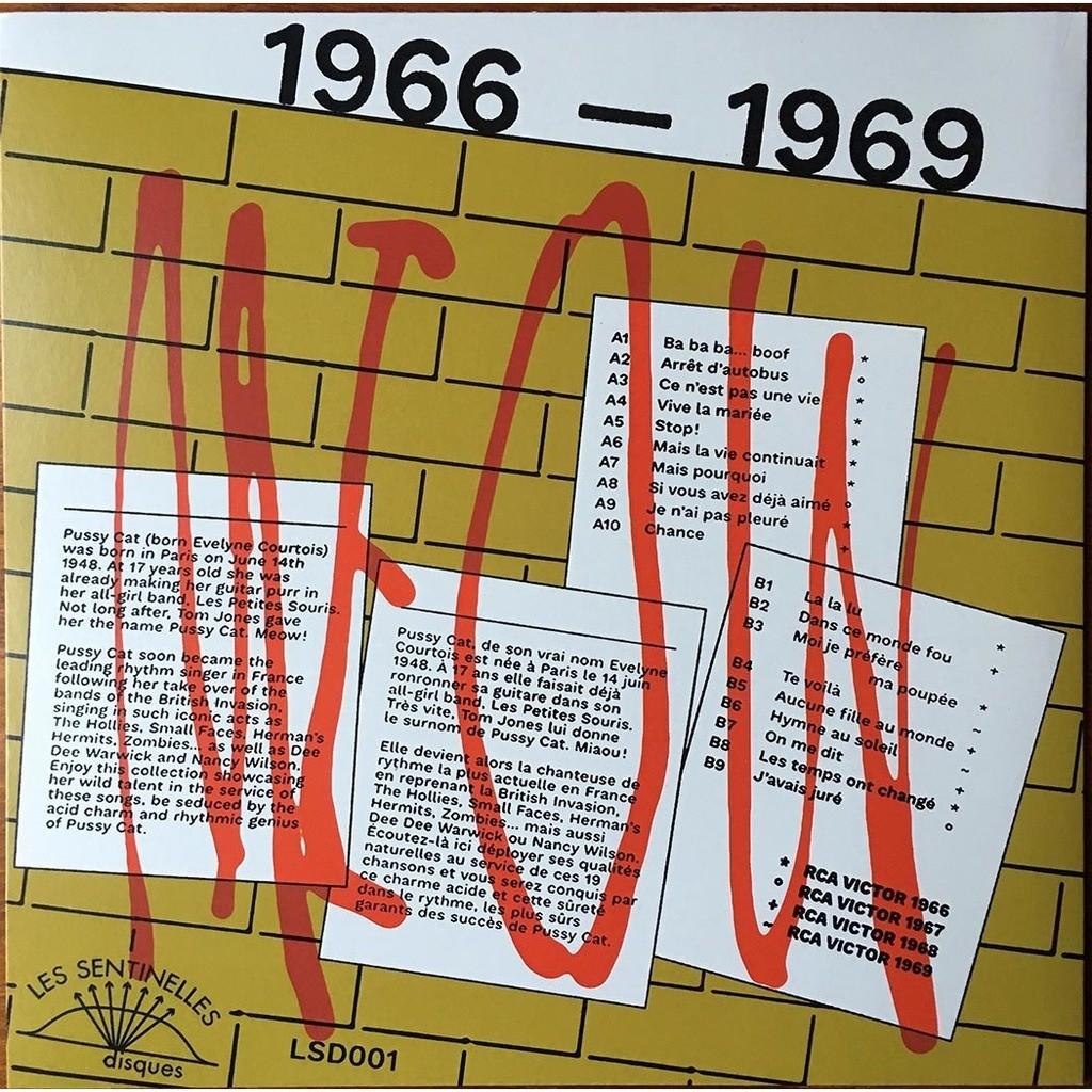 PUSSY CAT 1966-1969 Vive la mariée, Ce n'est pas une vie, Aucune fille au monde… Réédition Vinyle