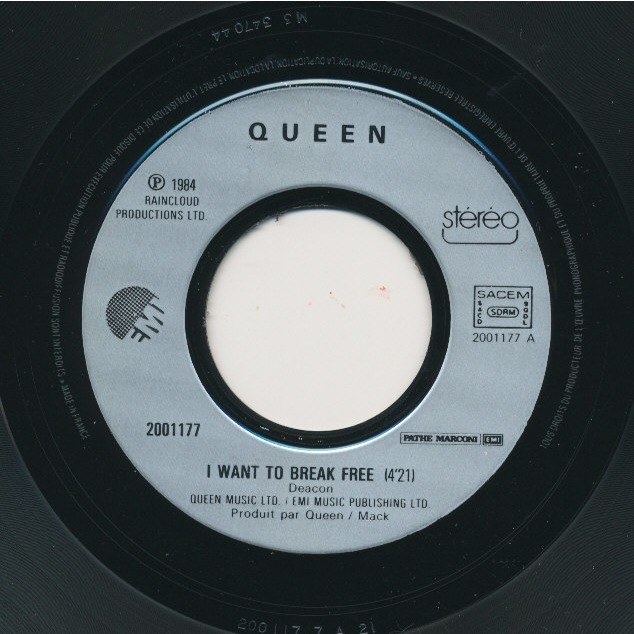 QUEEN I want to break free - Machines ( or Back to humans' )