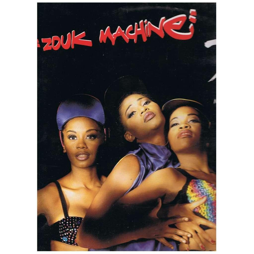 ZOUK MACHINE D.J. (dance remix) / D.J. (hard remix) / SA RIVE MWEN