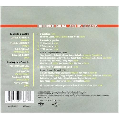 Friedrich Gulda Freddie Hubbard Sahib Shihab Woods Austrian Jazzart – Friedrich Gulda And His Bigbands