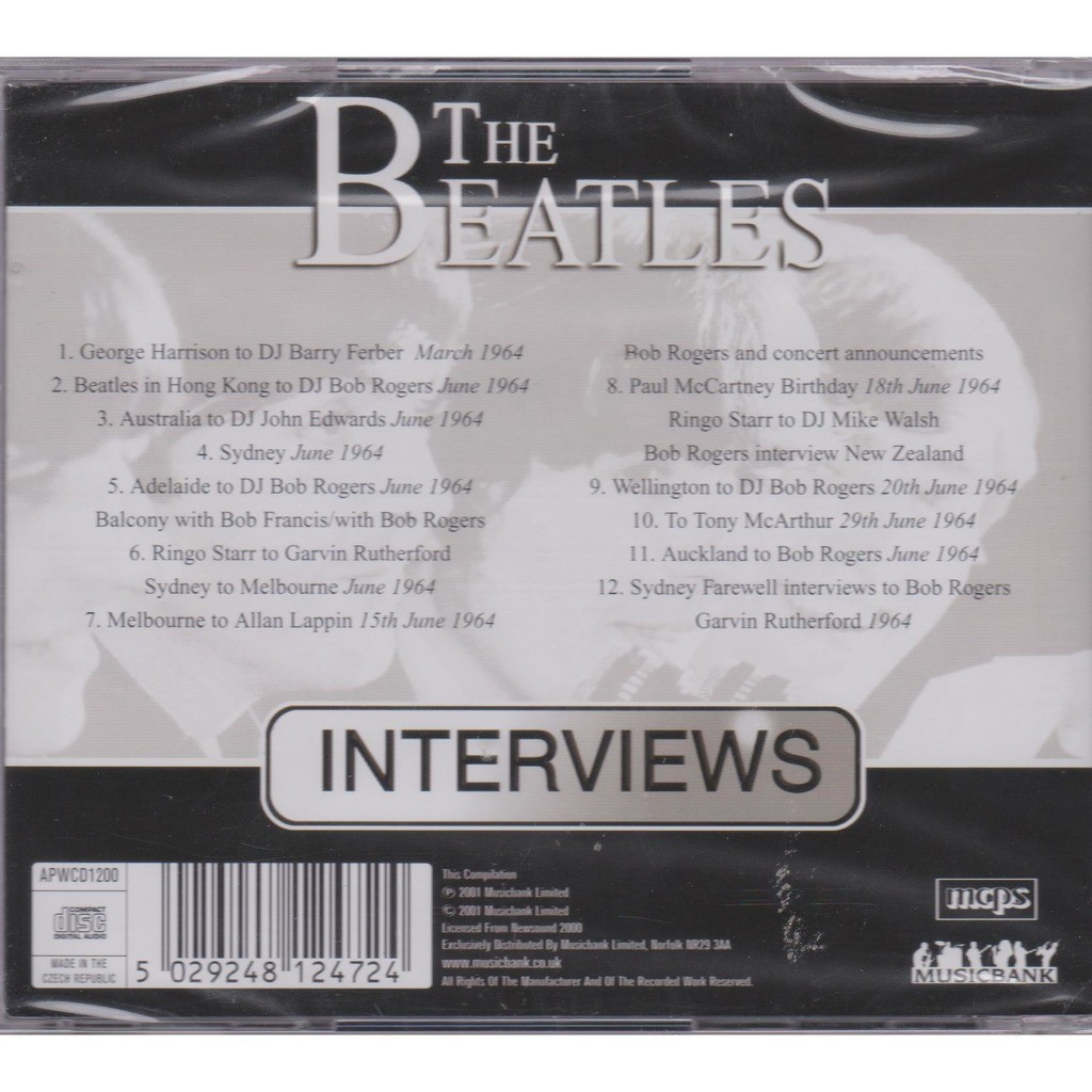 THE BEATLES INTERVIEWS 1