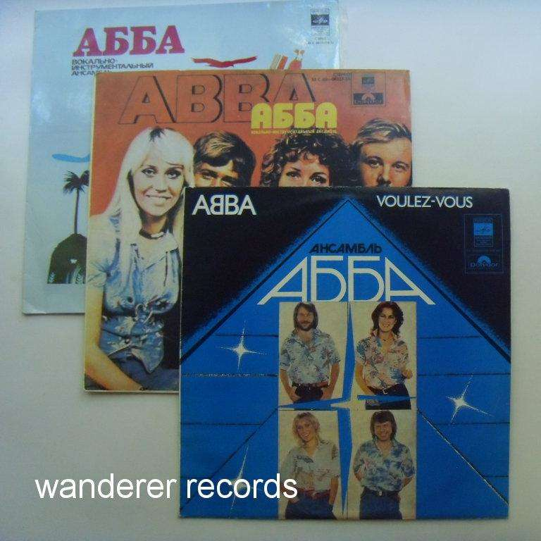 ABBA ABBA - Voulez-vous, Mamma Mia, Arrival 3LP