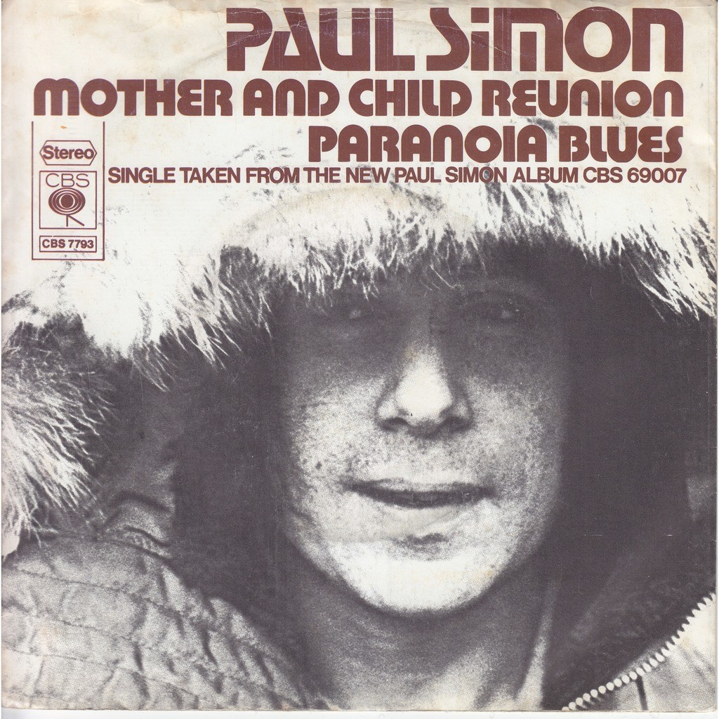 paul simon mother and child reunion - paranoia blues