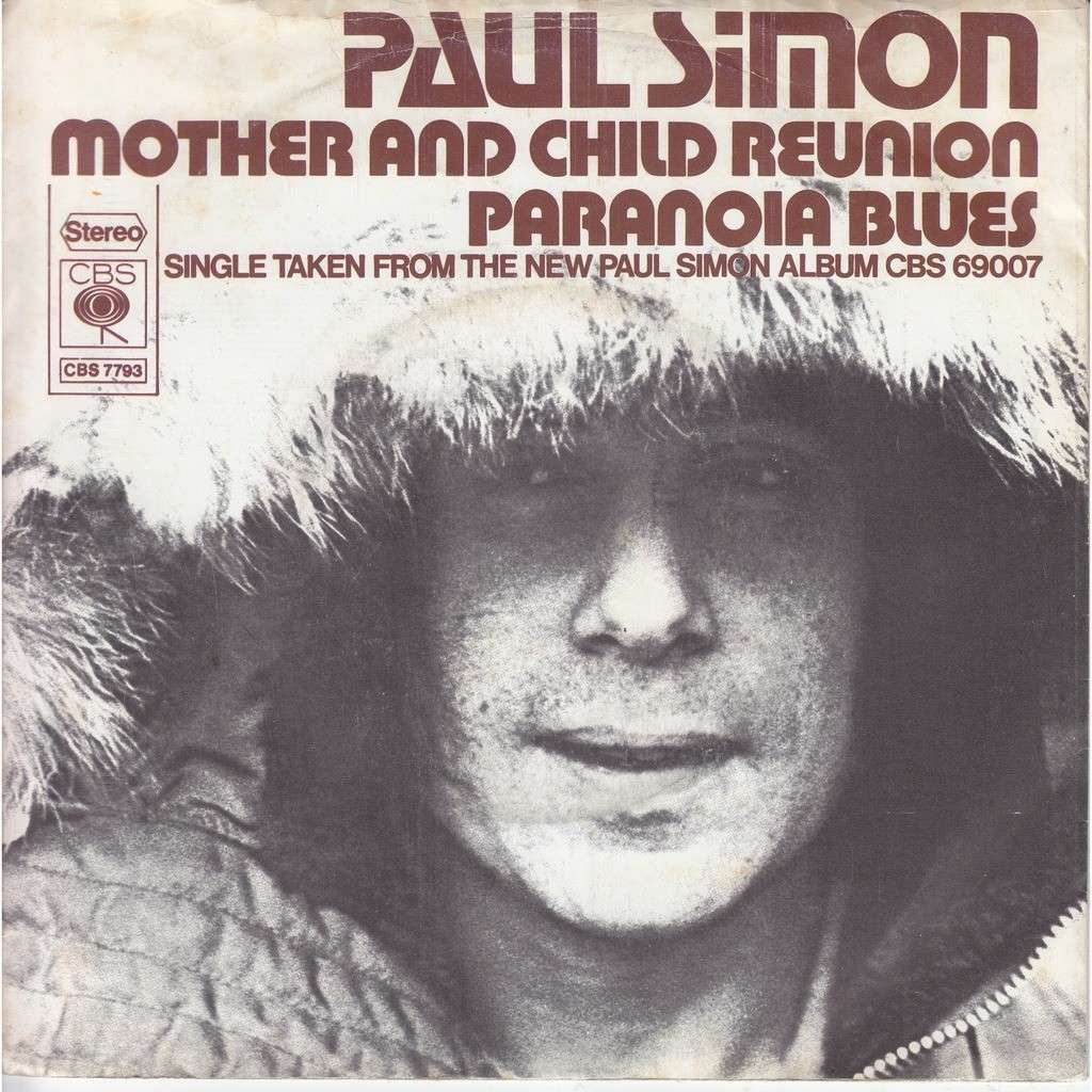 paul simon mother and child reunion - paranoia blues