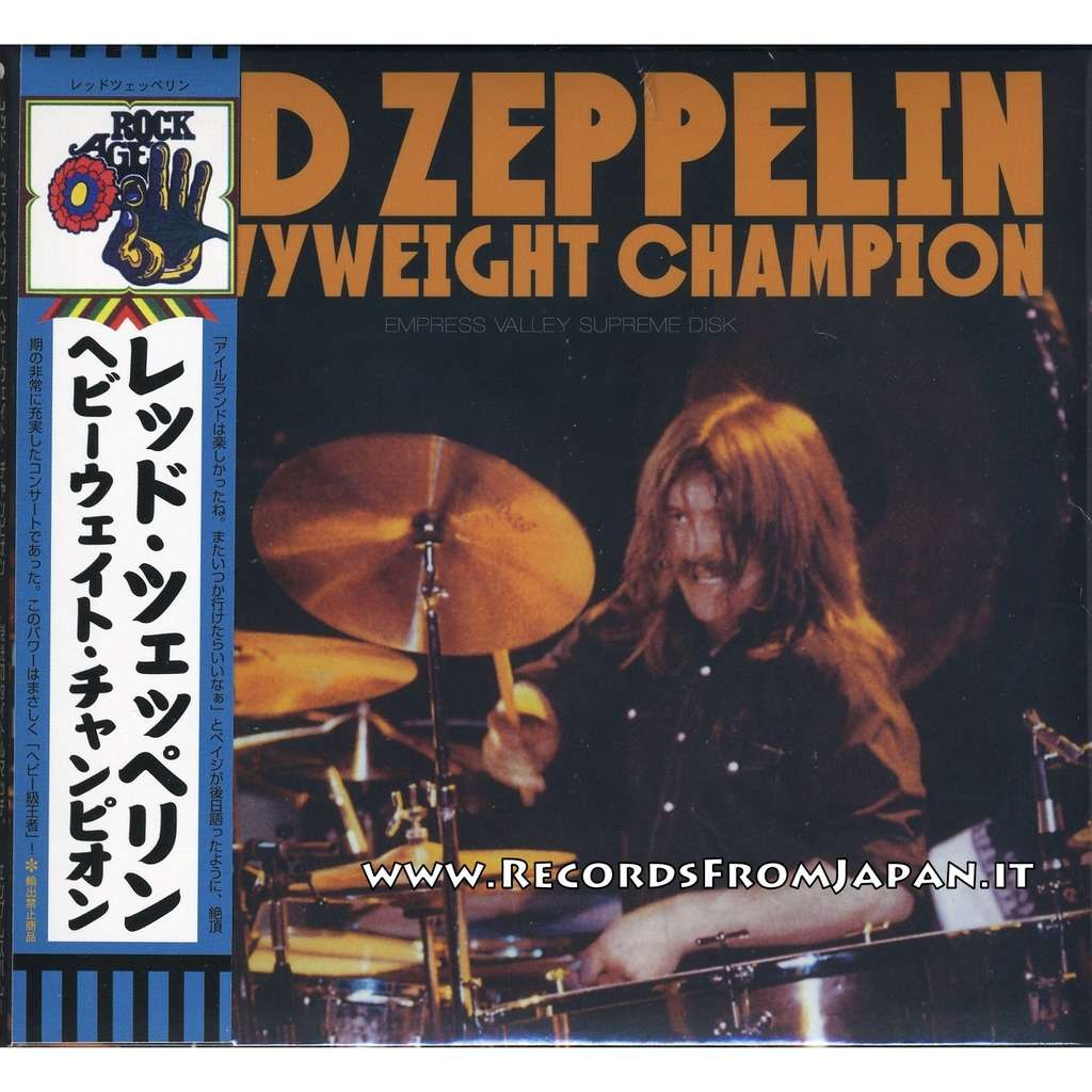 Led Zeppelin Heavyweight Champion - 2 CD