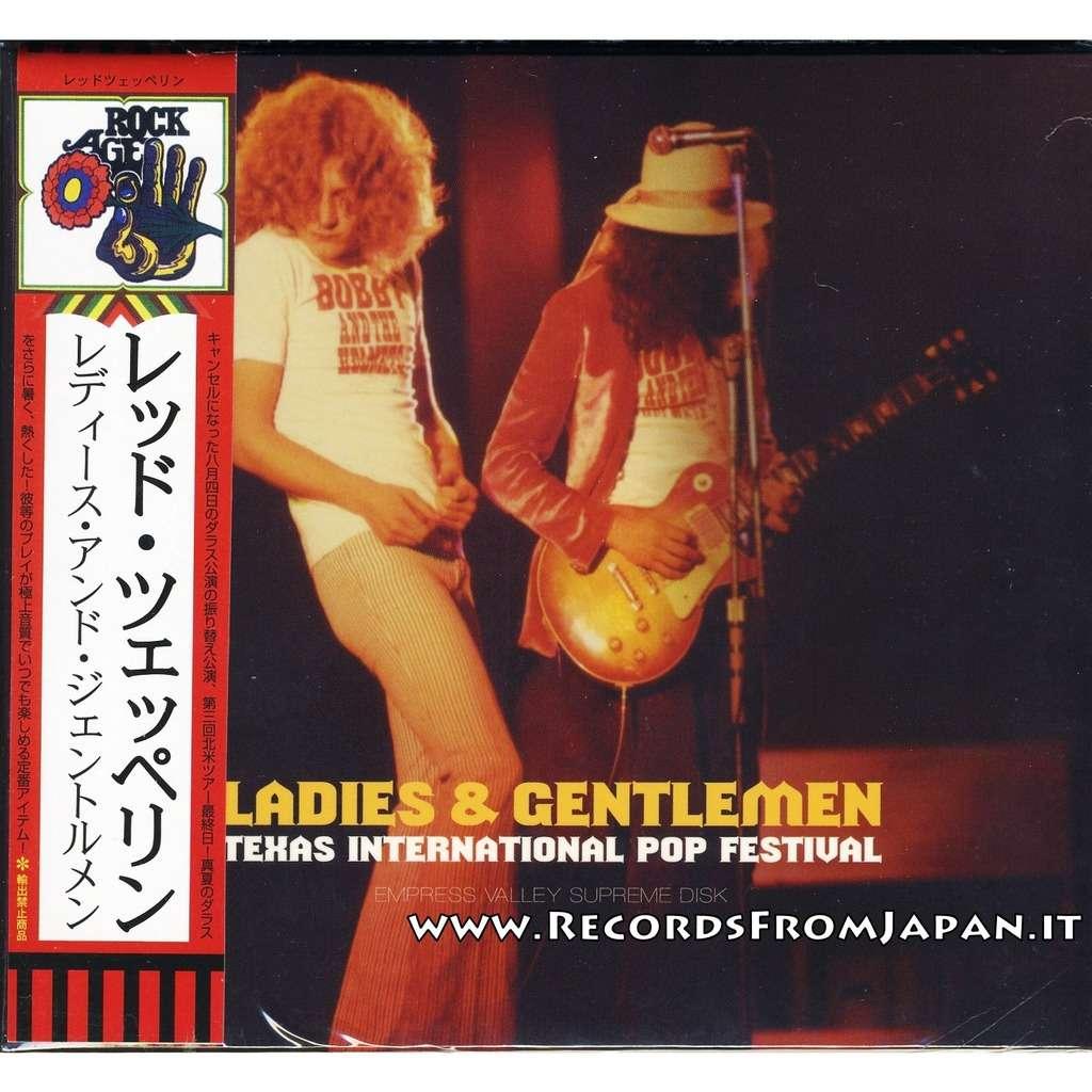 Led Zeppelin Ladies & Gentlemen – Texas International Pop Festival - 2 CD