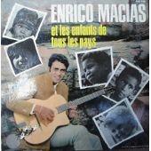 Enrico Macias Enrico Macias et les enfants de tous pays 13 titres 12 pays Unicef 1967
